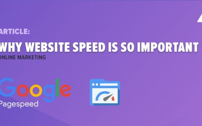Why website speed is so important
