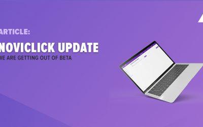 Status update Noviclick platform