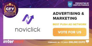 GFY Awards 2021: Best Push Ad Network