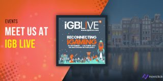 Come and meet us in Amsterdam at iGB Live 2021